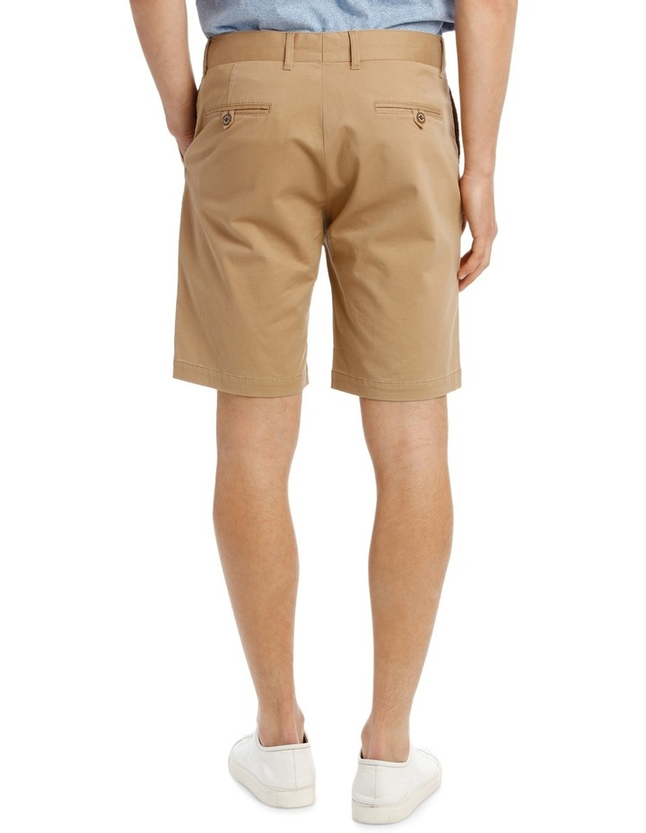 Slim Stretch Cotton Twill Short image 3