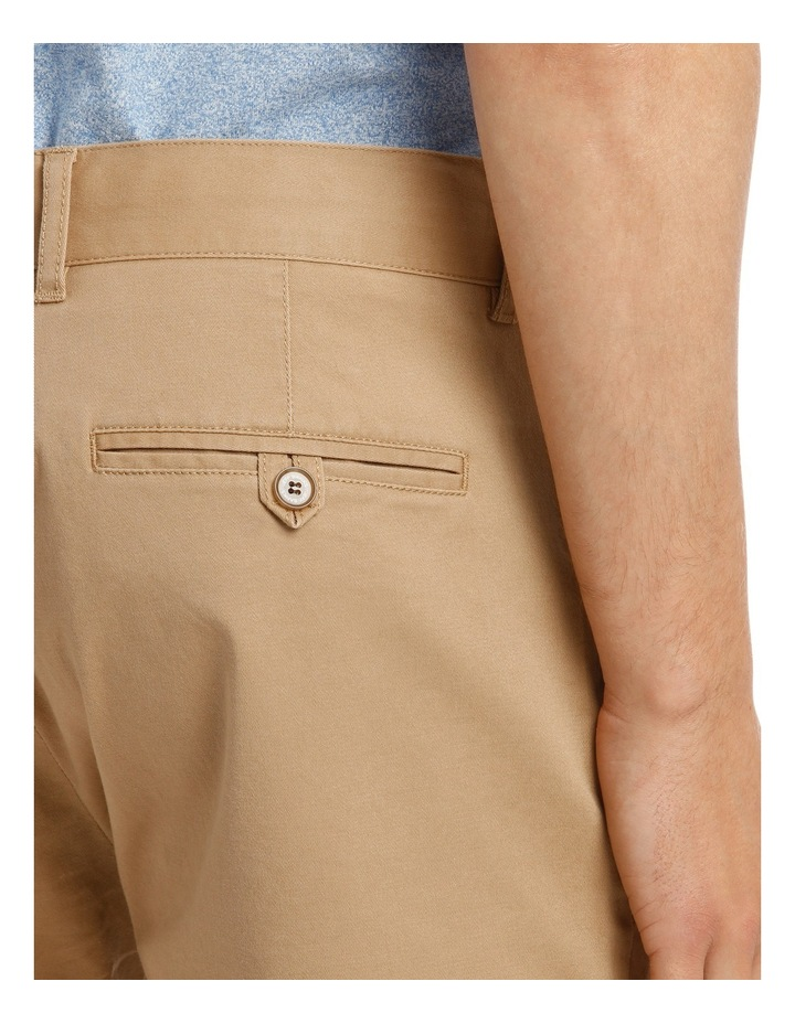 Slim Stretch Cotton Twill Short image 4