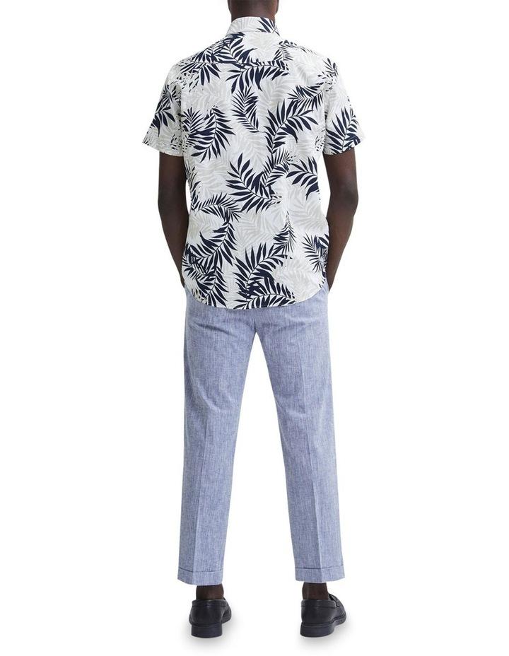 Regular All Over Print Linen Short Sleeve Shirt image 2
