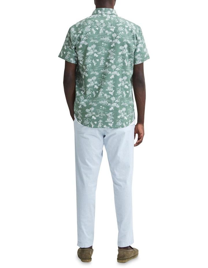 Regular Linen Short Sleeve Shirt image 2