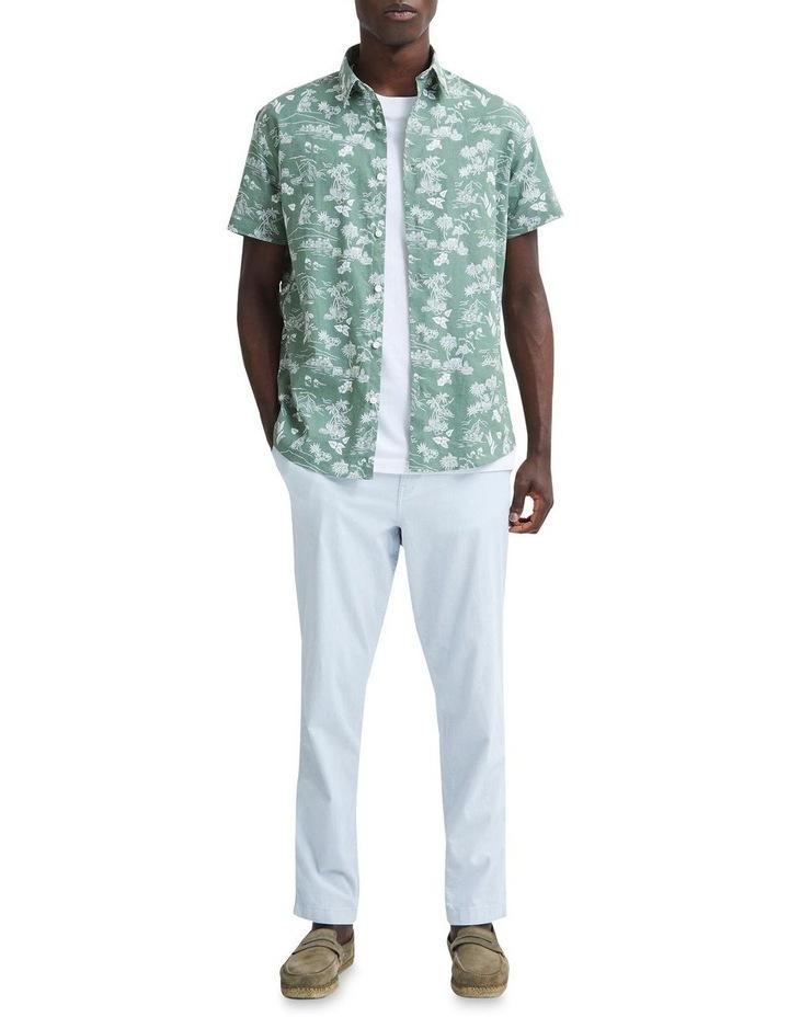 Regular Linen Short Sleeve Shirt image 3