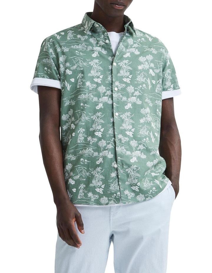 Regular Linen Short Sleeve Shirt image 4