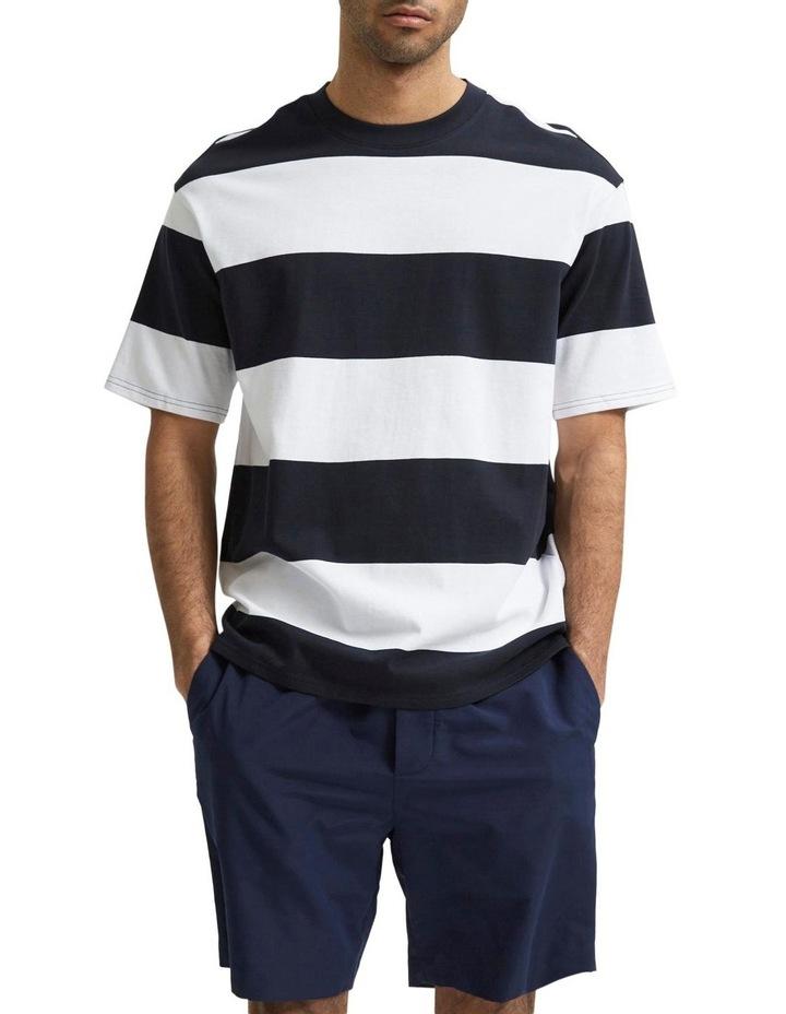 Loose Bold Short Sleeve Tee image 1