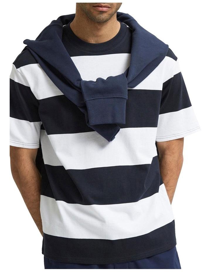 Loose Bold Short Sleeve Tee image 5