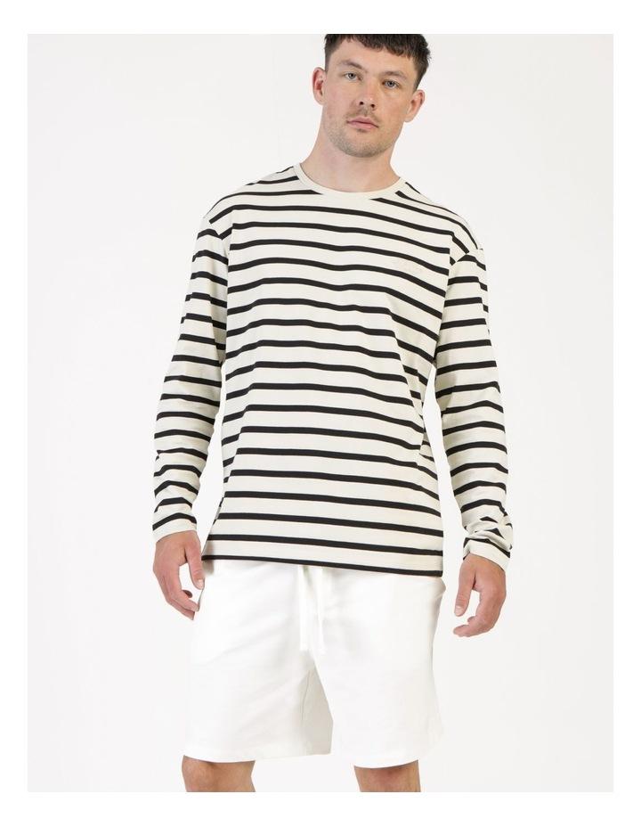 Nick 180 O-Neck Long Sleeve Stripe Tee image 5