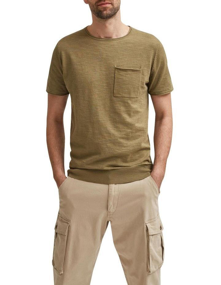 Stan Slub Short Sleeve Knit Tee image 1