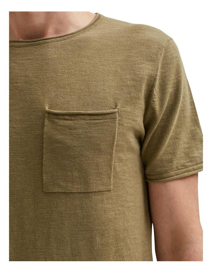 Stan Slub Short Sleeve Knit Tee image 5