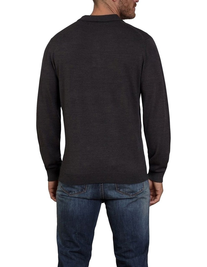 Signature Knitted Long Sleeve Polo image 2