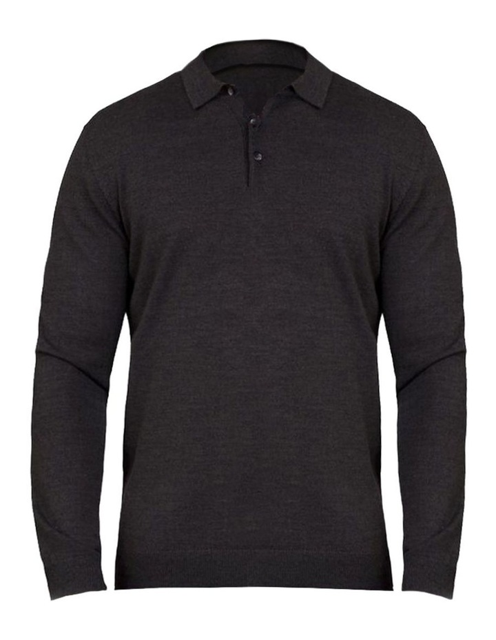 Signature Knitted Long Sleeve Polo image 3