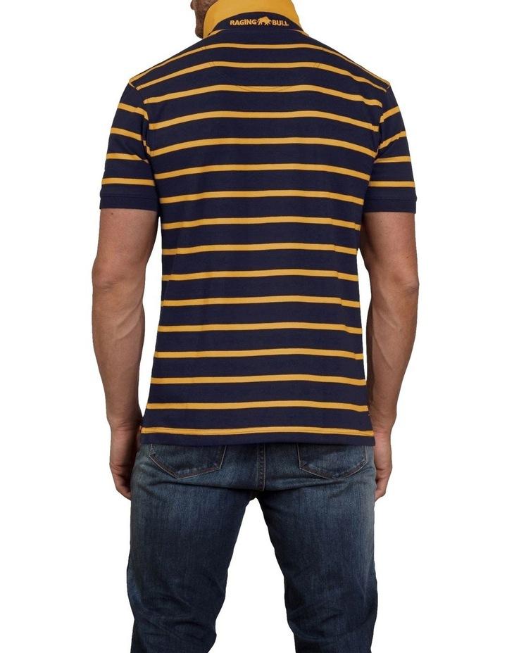 Breton Stripe Pique Polo image 2
