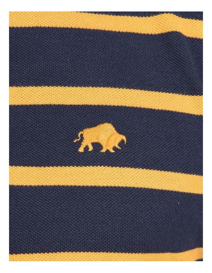 Breton Stripe Pique Polo image 4