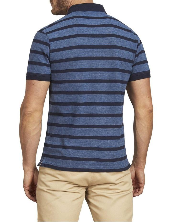 Birdseye Stripe Pique Polo image 3