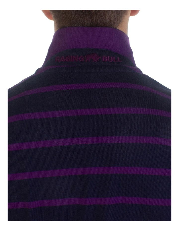Breton Stripe Pique Polo image 5