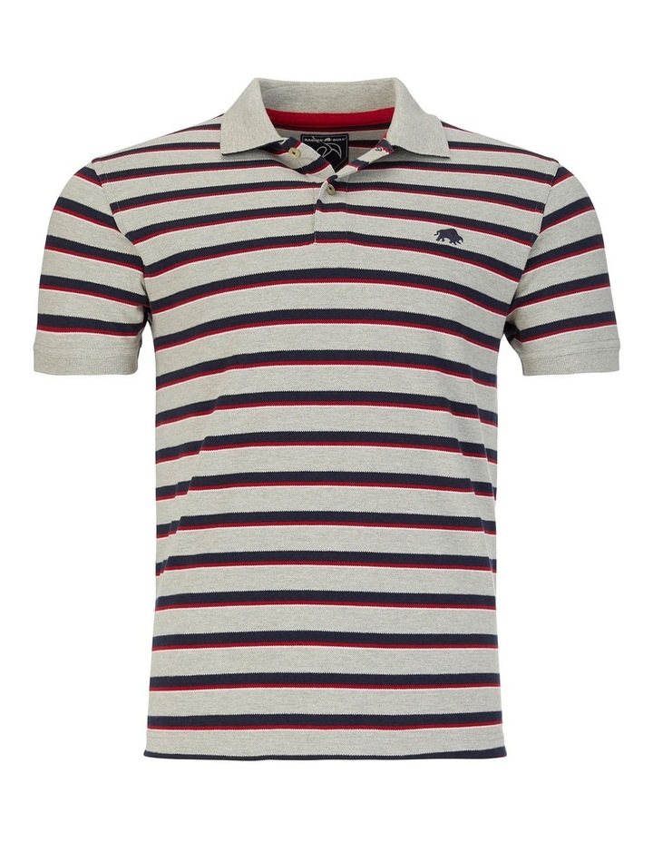 Pique Stripe Polo image 3