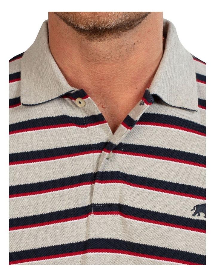 Pique Stripe Polo image 4