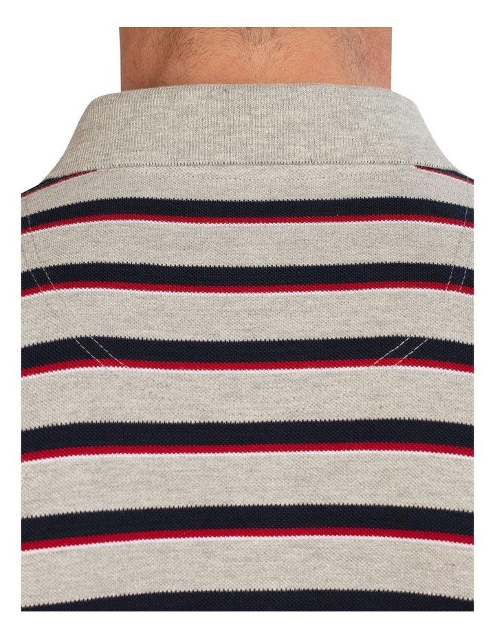Pique Stripe Polo image 6