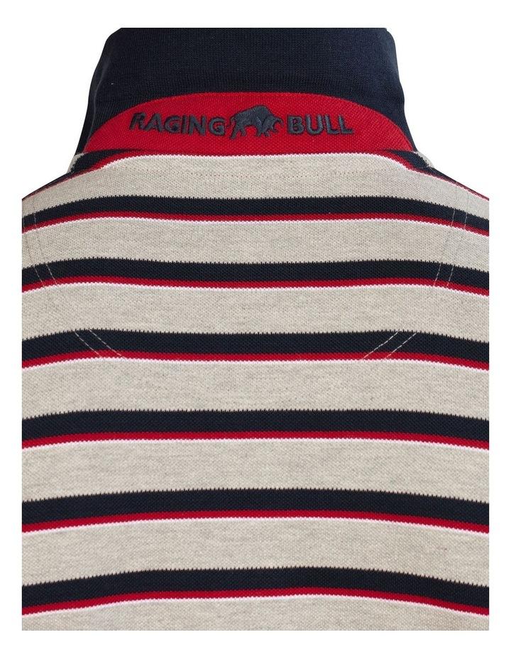 Pique Stripe Polo image 7