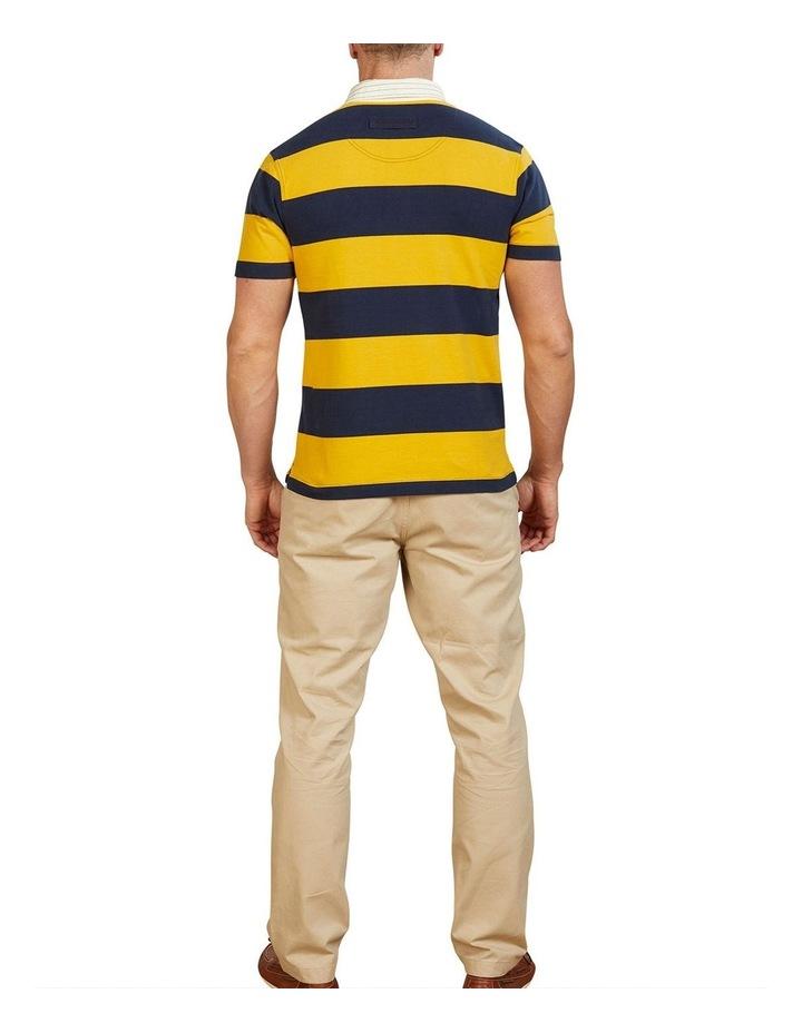 Short Sleeve Block Stripe Rugby image 2