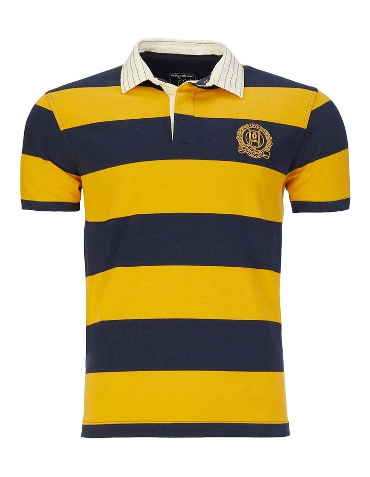 Short Sleeve Block Stripe Rugby image 3