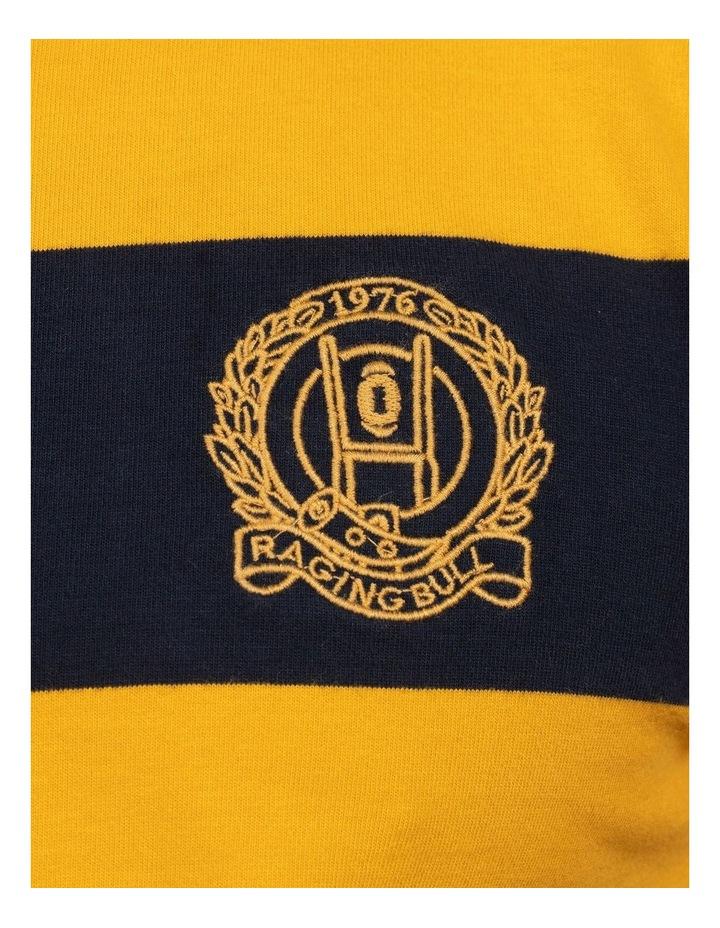Short Sleeve Block Stripe Rugby image 5