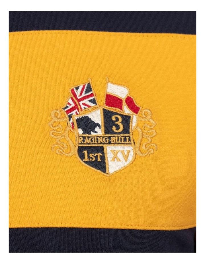 Short Sleeve Block Stripe Rugby image 6