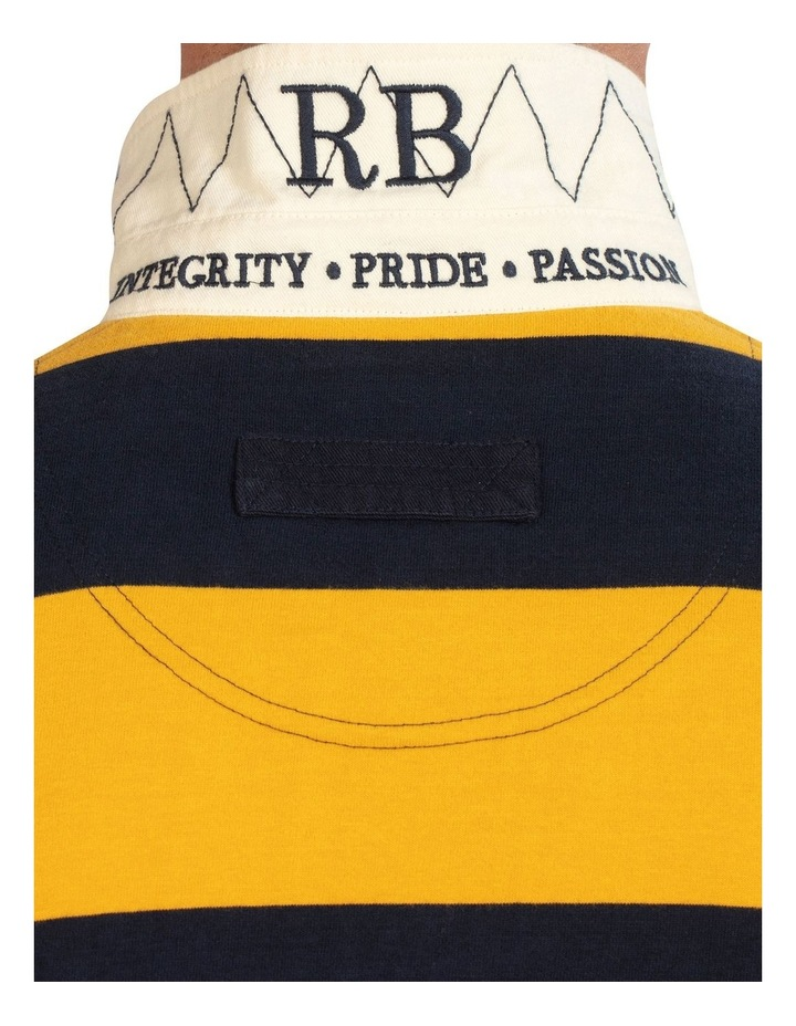 Short Sleeve Block Stripe Rugby image 7