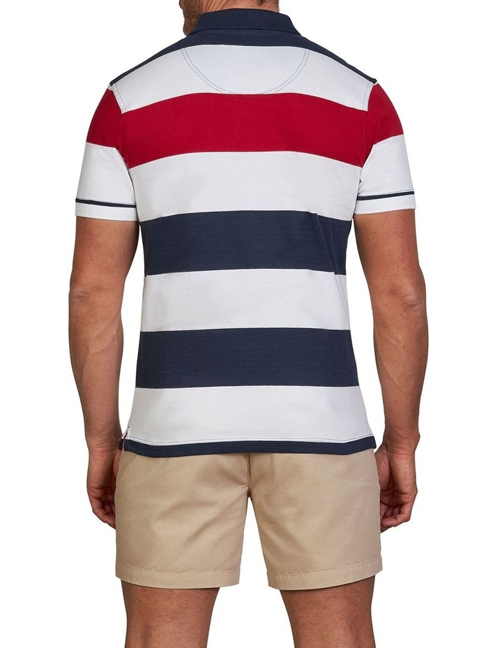 Jersey Contrast Panel Polo image 2