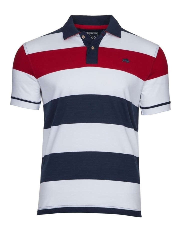 Jersey Contrast Panel Polo image 3