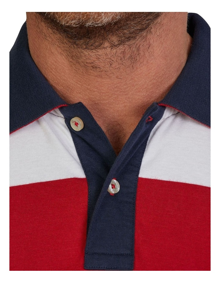 Jersey Contrast Panel Polo image 4