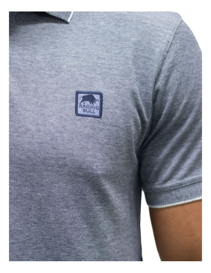 Embroidered Patch Birdseye Polo image 3
