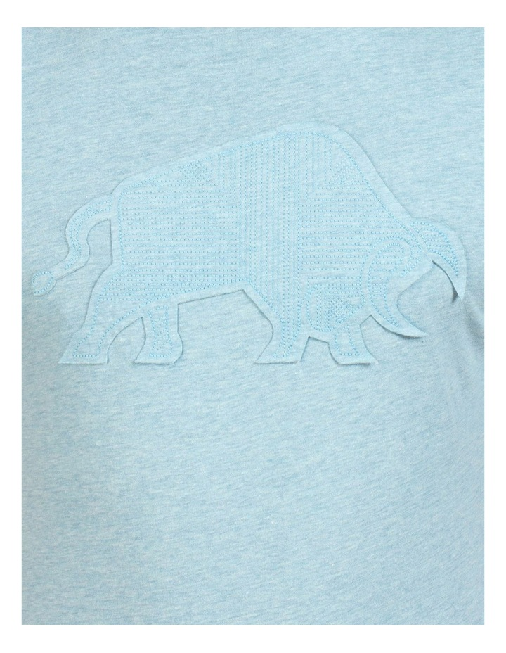 Embroidered Bull Tee image 4