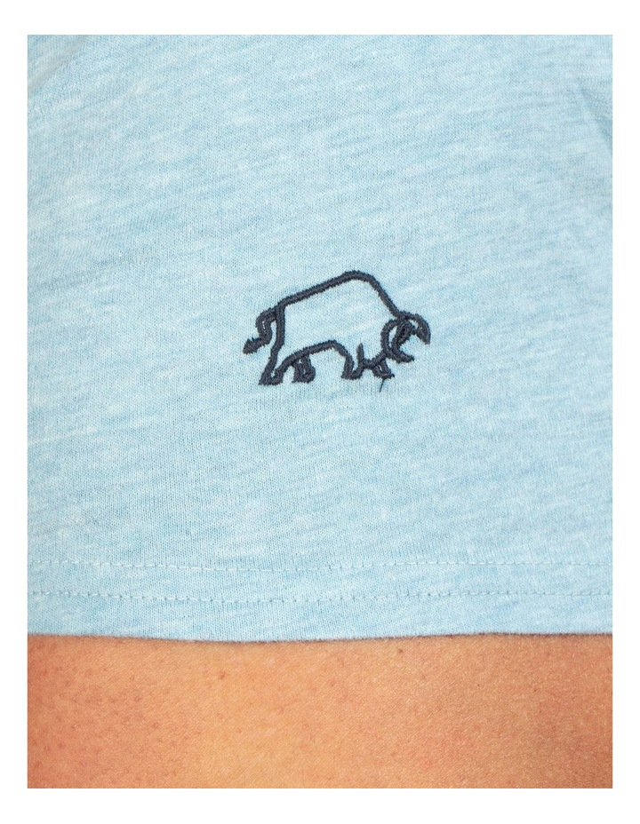 Embroidered Bull Tee image 5