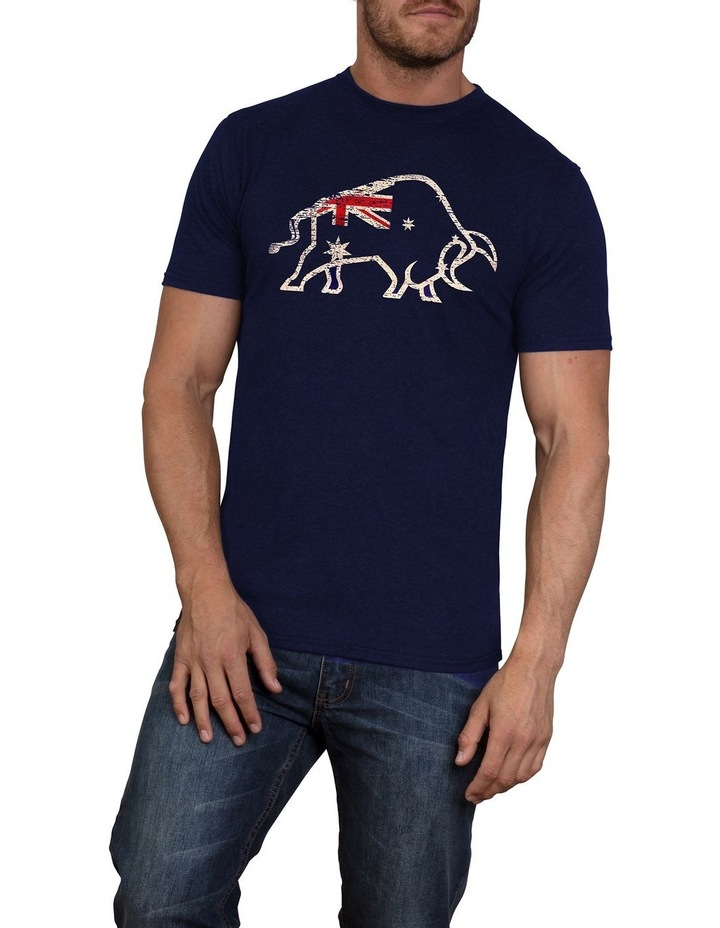 Distress Aus Flag Tee image 1