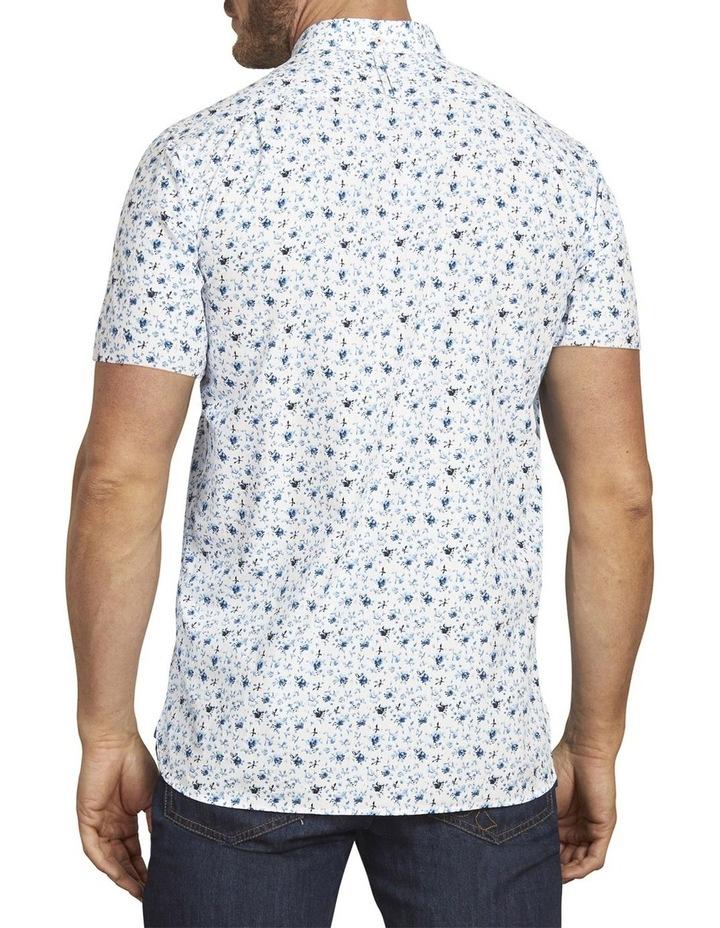Blossom Print Poplin Short Sleeve Shirt image 2
