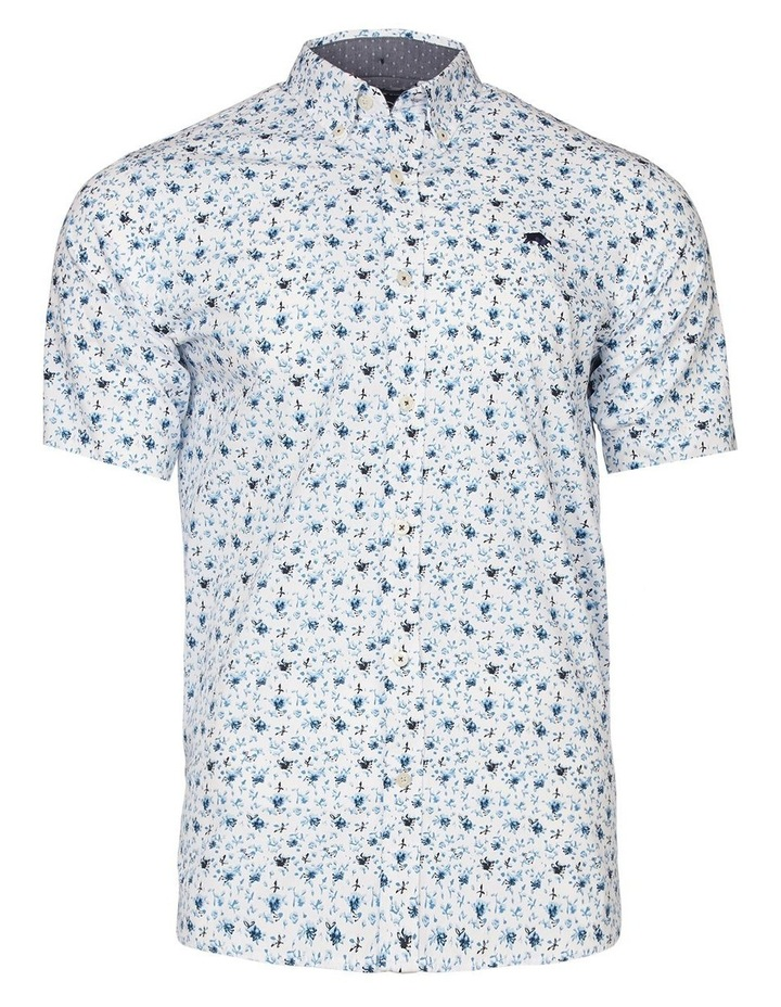Blossom Print Poplin Short Sleeve Shirt image 3