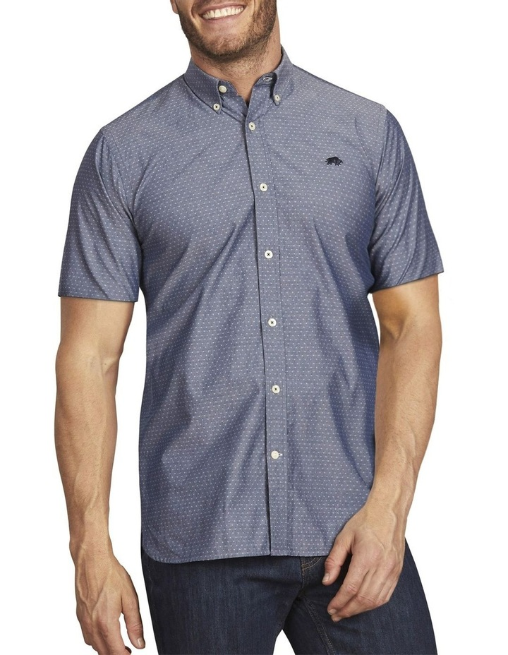 Chambray Dobby Short Sleeve Shirt image 1