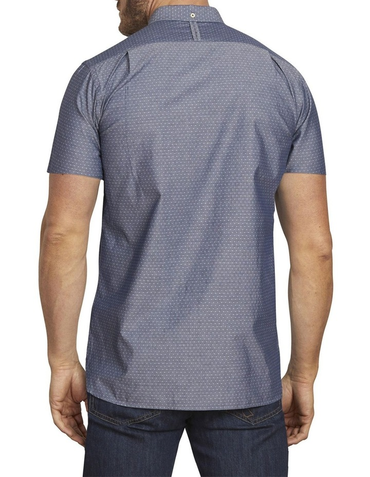 Chambray Dobby Short Sleeve Shirt image 2