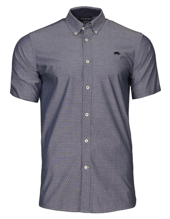 Chambray Dobby Short Sleeve Shirt image 3