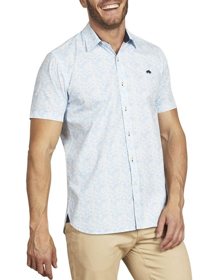 Floral Print Poplin Short Sleeve Shirt image 1
