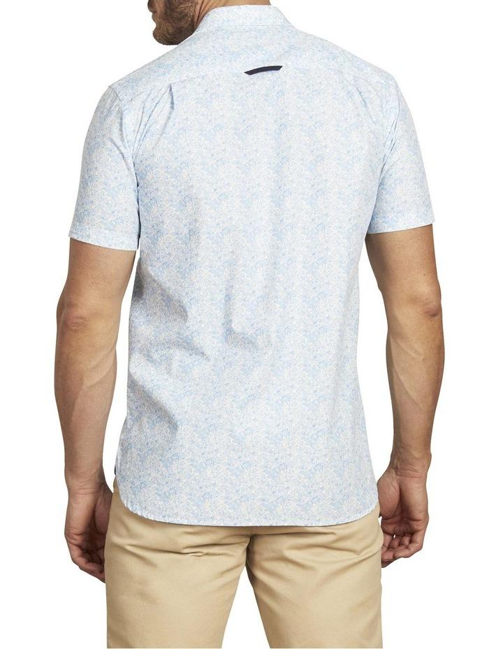 Floral Print Poplin Short Sleeve Shirt image 2