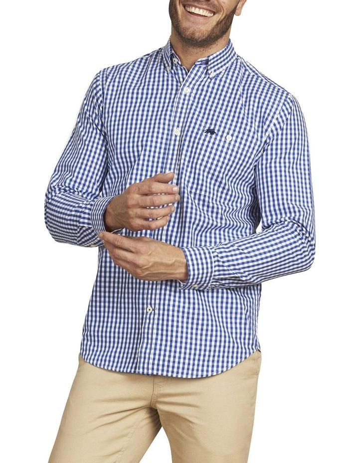 Signature Gingham Check Poplin Long Sleeve Shirt image 1
