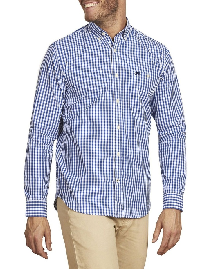 Signature Gingham Check Poplin Long Sleeve Shirt image 2