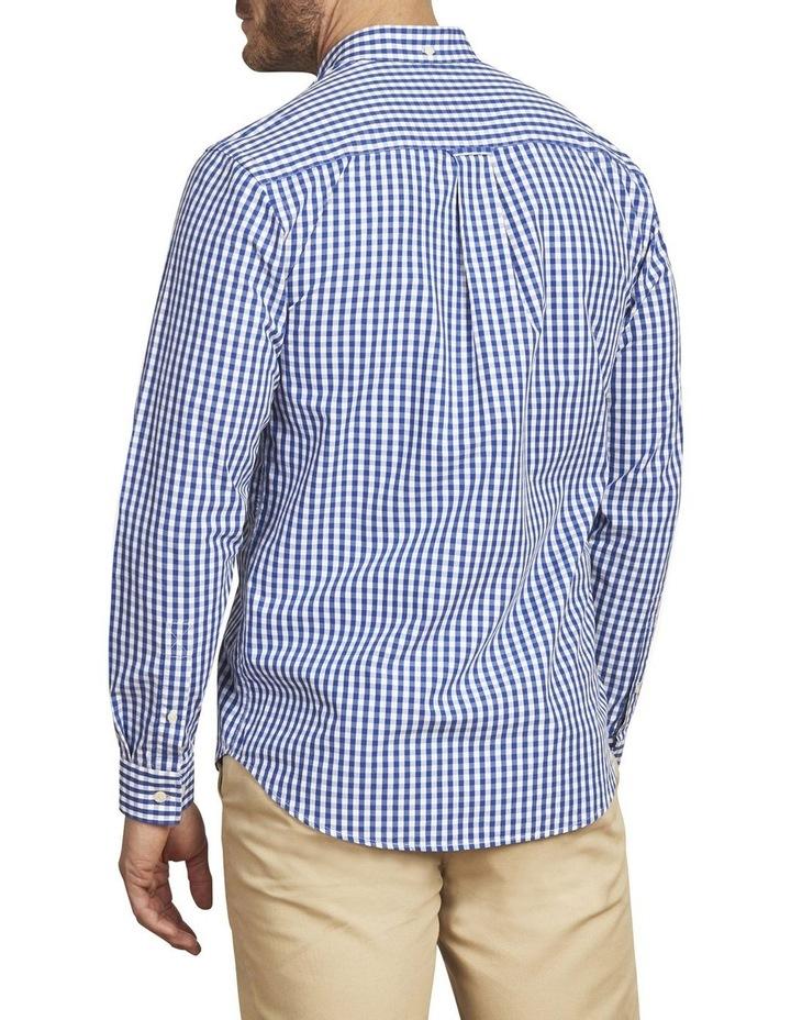Signature Gingham Check Poplin Long Sleeve Shirt image 3
