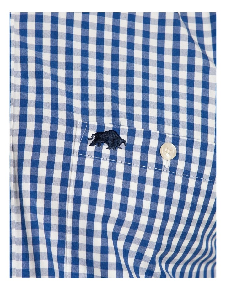 Signature Gingham Check Poplin Long Sleeve Shirt image 4