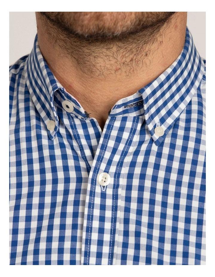 Signature Gingham Check Poplin Long Sleeve Shirt image 5