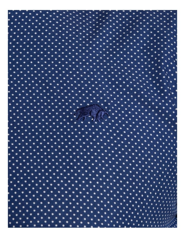 Polka Dot Print Poplin Long Sleeve Shirt image 3