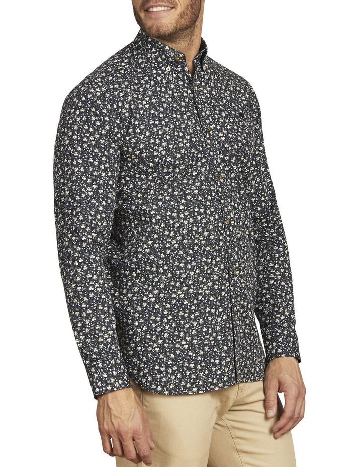 Ditzy Floral Print Poplin Long Sleeve Shirt image 2