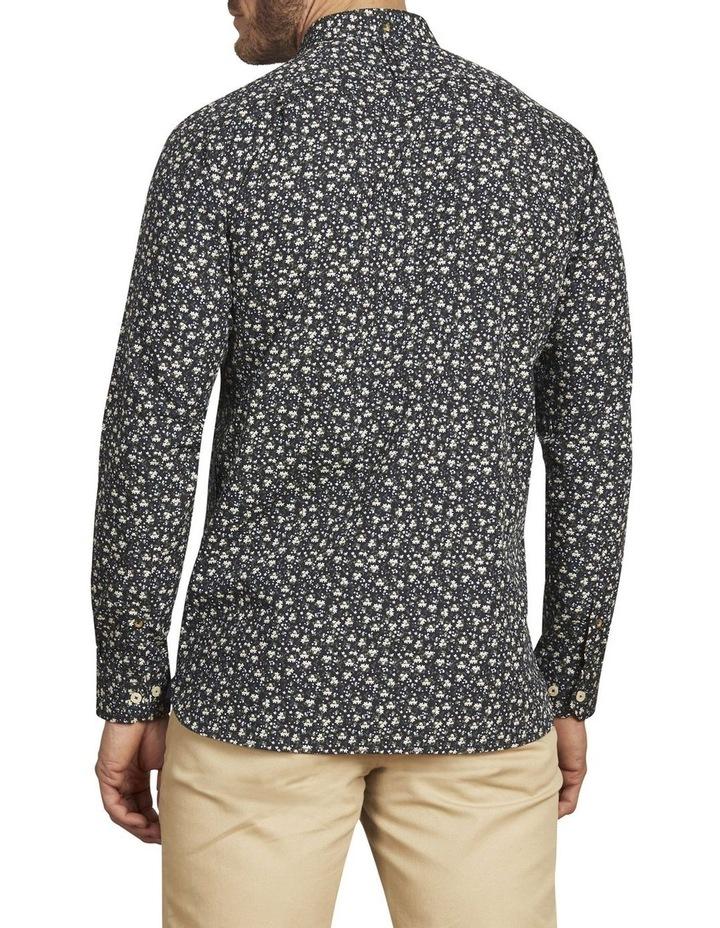 Ditzy Floral Print Poplin Long Sleeve Shirt image 3