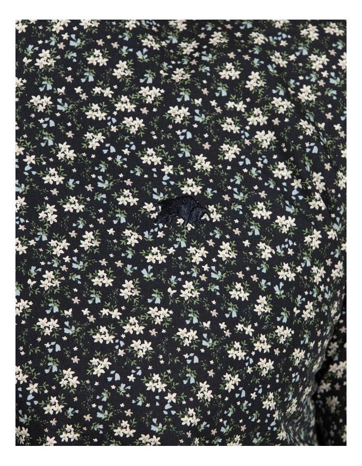 Ditzy Floral Print Poplin Long Sleeve Shirt image 4