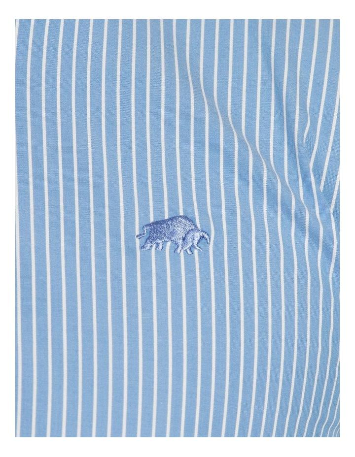 Pinstripe Poplin Long Sleeve Shirt image 4